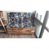 banco booth de madeira Itapevi