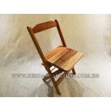 cadeira de madeira maciça Jardim São Paulo