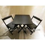 cadeira de madeira preta Arujá