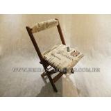 cadeira dobrável de madeira para pub