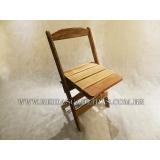 cadeira dobrável confortável Jockey Clube
