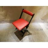 cadeira dobrável de madeira para lanchonete Butantã