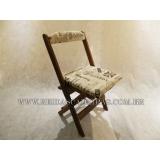 cadeira dobrável de madeira para pub Cambuci