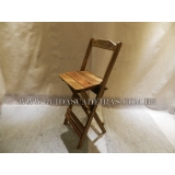 cadeira madeira bistrô