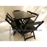 compra de mesa 6 cadeiras madeira Jardim São Paulo