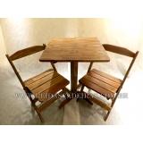 compra de mesa com cadeira em madeira Parque São Lucas