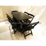 comprar mesa de madeira 6 cadeiras Consolação