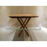 comprar mesa de madeira para piscina Vila Mariana
