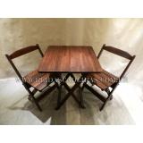 empresa de jogo de mesa dobrável com cadeira Campo Limpo