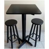 mesa bistrô com cadeiras Sé