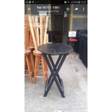 mesa bistrô madeira Cidade Jardim