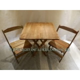 mesa com cadeira para lanchonete