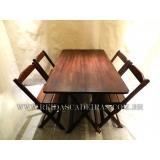 mesa de madeira 4 lugares Barueri