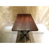 mesa de madeira para bar grande