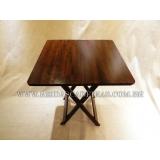 mesa de madeira para barzinho