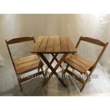 mesa dobrável com cadeiras Ferraz de Vasconcelos