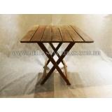 mesa dobrável de bar Itapecerica da Serra