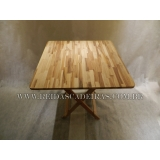 mesa dobrável de madeira para bar Bela Cintra