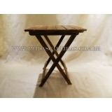 mesa dobrável de madeira Parque São Rafael