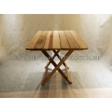 mesa dobrável em madeira Glicério