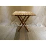 mesa dobrável de madeira para bar