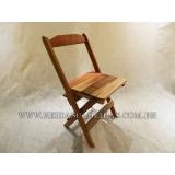 onde comprar cadeira de madeira maciça Santa Cruz