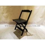 onde comprar cadeira de madeira preta Santa Cruz