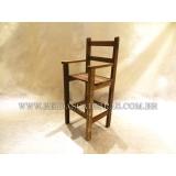 onde comprar cadeira infantil madeira Brasilândia