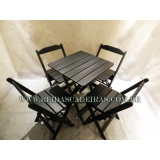 onde comprar cadeira madeira preta Mogi das Cruzes