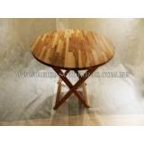 onde compro mesa dobrável madeira Pacaembu