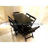 orçamento de mesa de madeira 6 cadeiras Itapevi