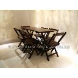 orçamento de mesa de madeira para 6 cadeiras Guaianases