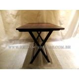 orçamento de mesa de madeira para bar grande Barueri