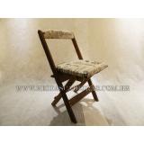 preço de cadeira dobrável de madeira para pub Casa Verde
