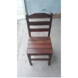 preço de cadeira madeira Santo Amaro