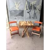 quanto custa cadeira estofada de madeira Rio Pequeno