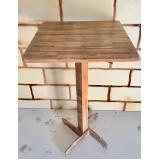 quanto custa mesa bistrô madeira Cidade Tiradentes