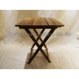 quanto custa mesa dobrável de madeira Campo Grande