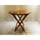 quanto custa mesa dobrável madeira Arujá
