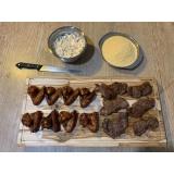 tábua de carne madeira rústica M'Boi Mirim