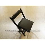valor de cadeira dobrável de madeira para bar Vila Gustavo
