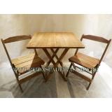 venda de mesa com cadeira para lanchonete Santo Amaro