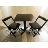 venda de mesa com cadeira para restaurante Mooca